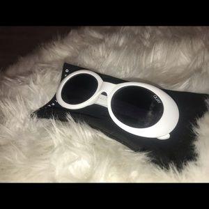 White Quay sunglasses.